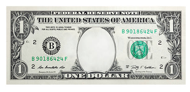 One Dollar Bill without some original art stock photo