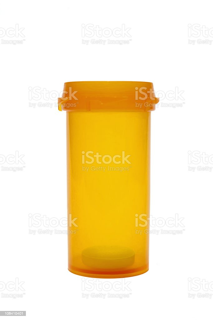 One dose left royalty-free stock photo