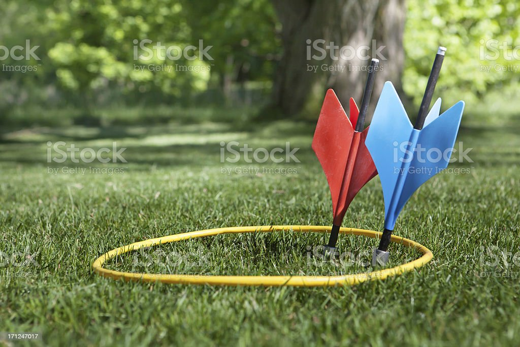 one each on target stock photo