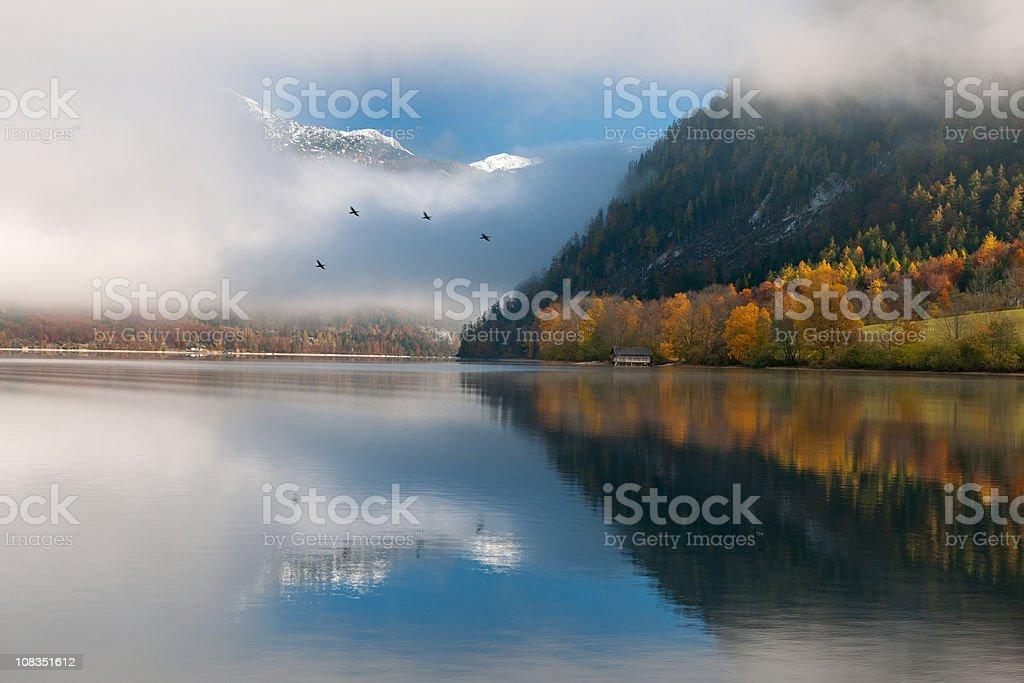 One early Autumn Morning - Austrian Alps (XXXL) royalty-free stock photo