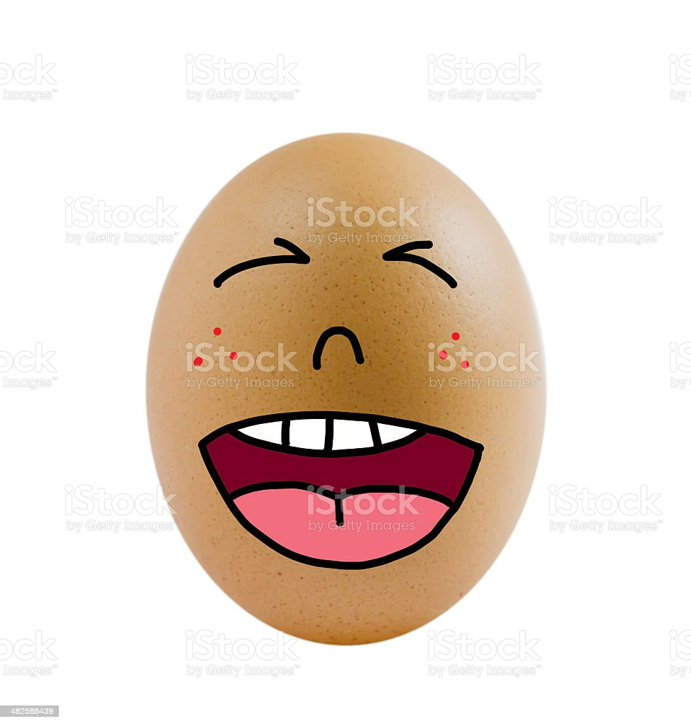 one eggs royalty-free stock photo
