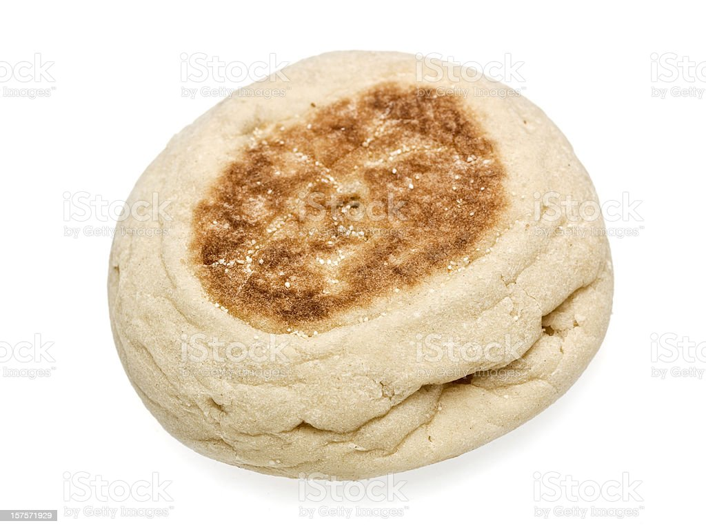 One English Muffin royalty-free stock photo