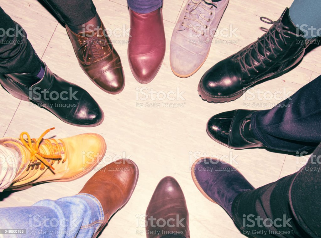 One for All and All for One - Concept of teamwork stock photo