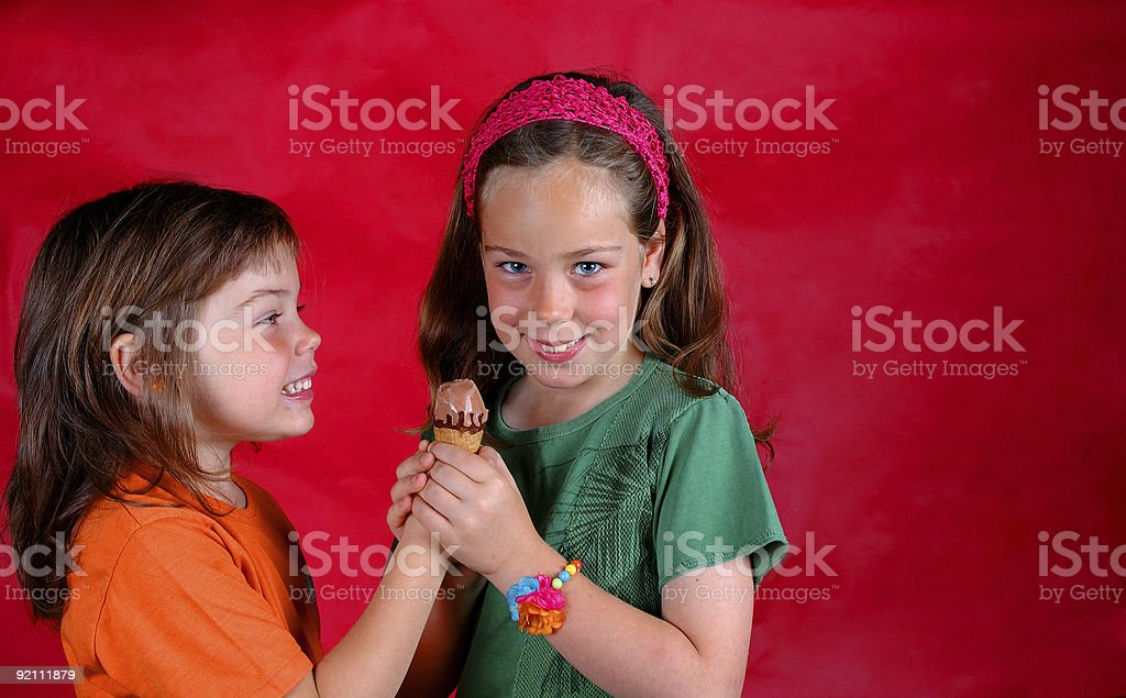 One for two royalty-free stock photo