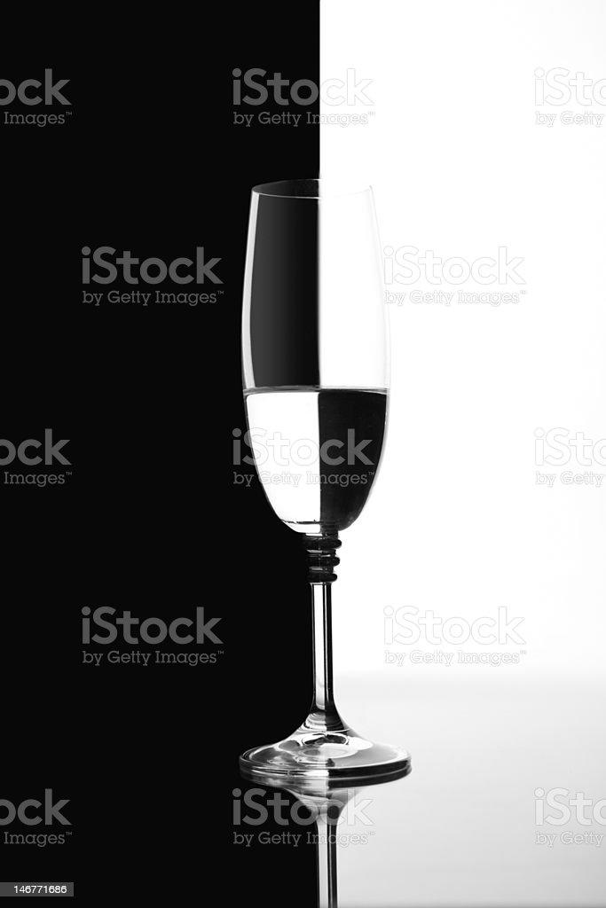 one glass stock photo