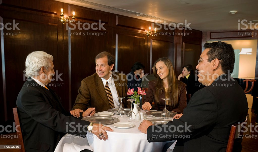 One Good Meeting stock photo