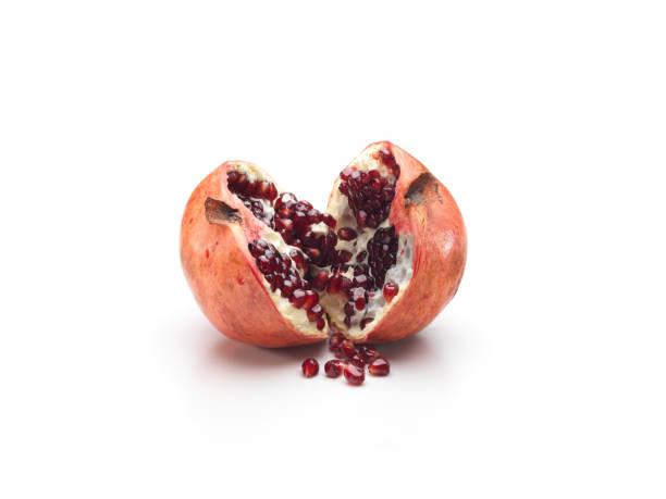 Eine Hälfte des Granatapfels – Foto