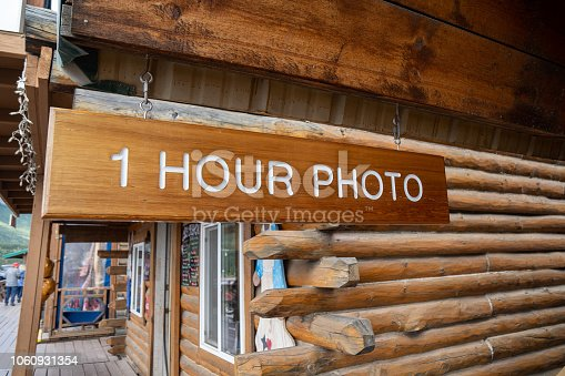One hour photo for film processing photography