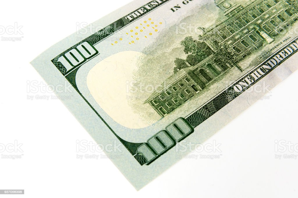 One Hundred American Dollar Bill stock photo