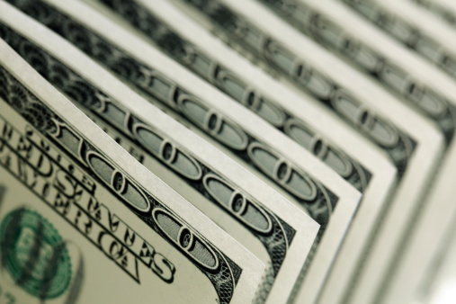 istock One hundred dollar bills 462542665