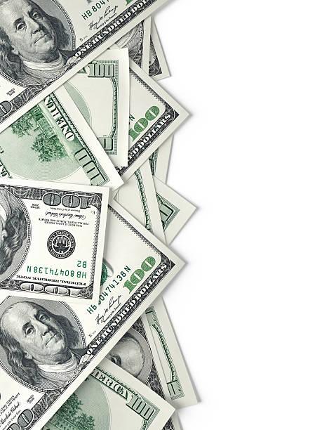 hundert-dollar-banknoten - nummer 100 stock-fotos und bilder