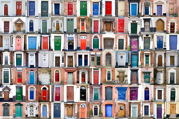 sto drzwi xxxl - duża grupa obiektów zdjęcia i obrazy z banku zdjęć
