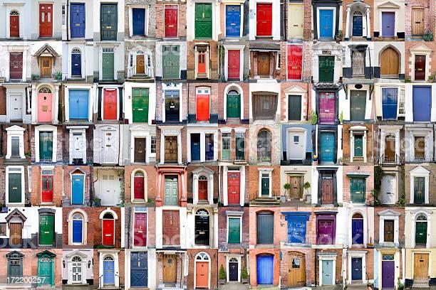 One Hundred Doors Xxxlarge Stock Photo - Download Image Now