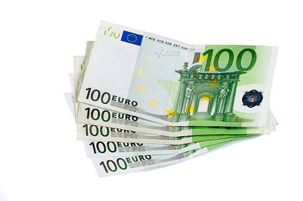 One hundred euro stock photo