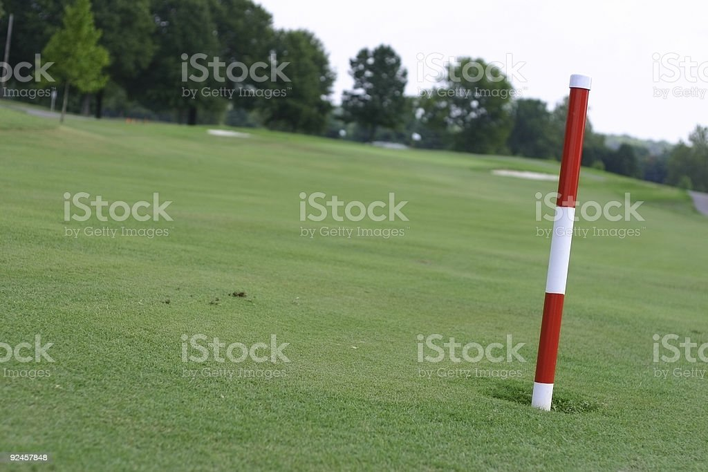 One Hundred Fifty Yards To The Pin Stock Photo Download
