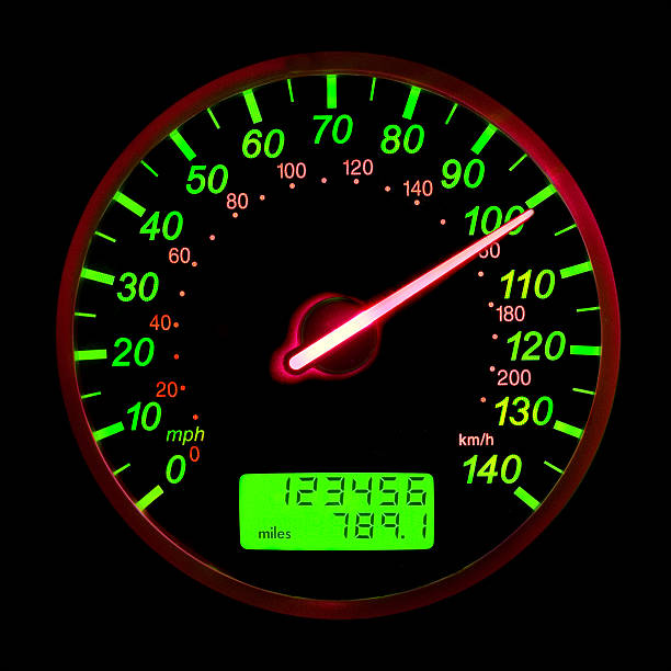 One Hundred Miles Per Hour stock photo