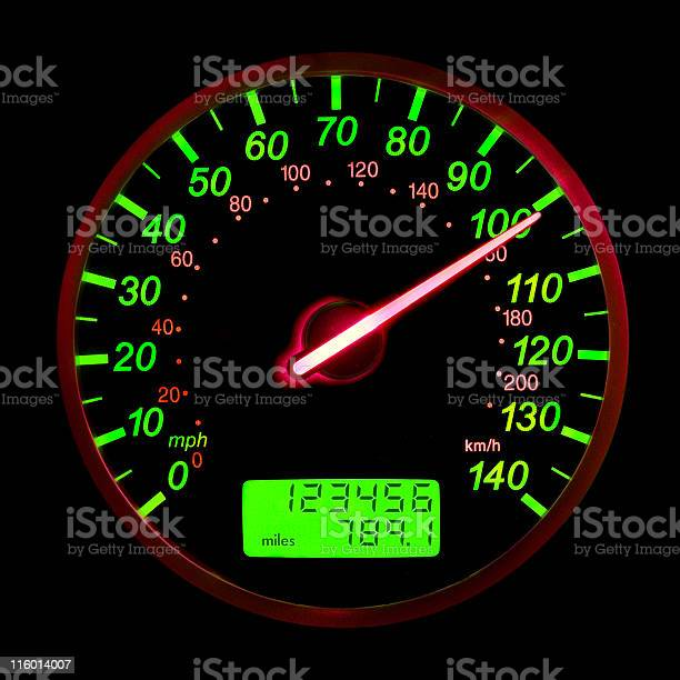 One Hundred Miles Per Hour Stock Photo - Download Image Now