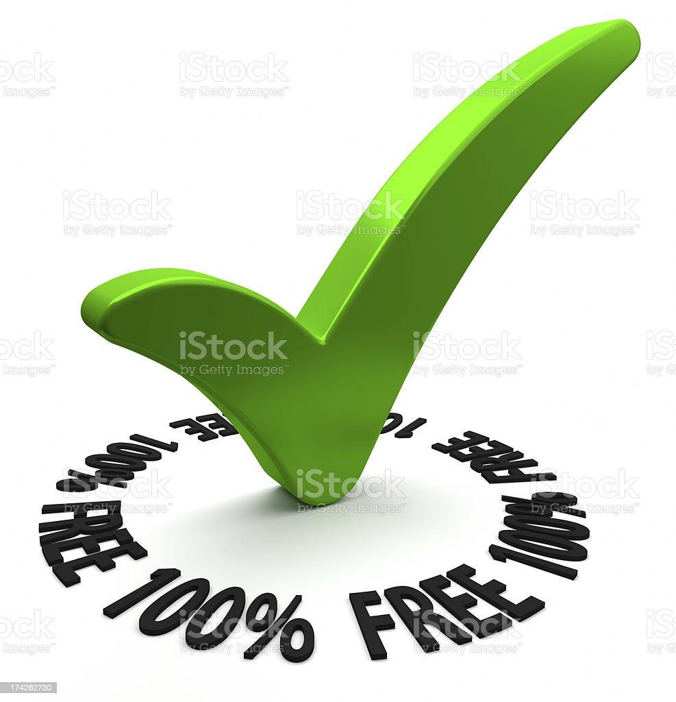 One Hundred Percent Free stock photo