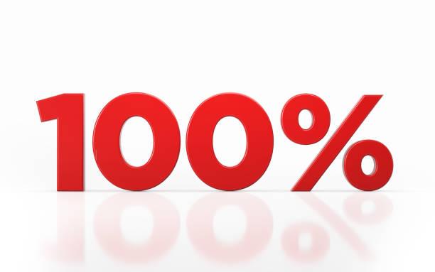 Symbole de pourcentage de cent - Photo