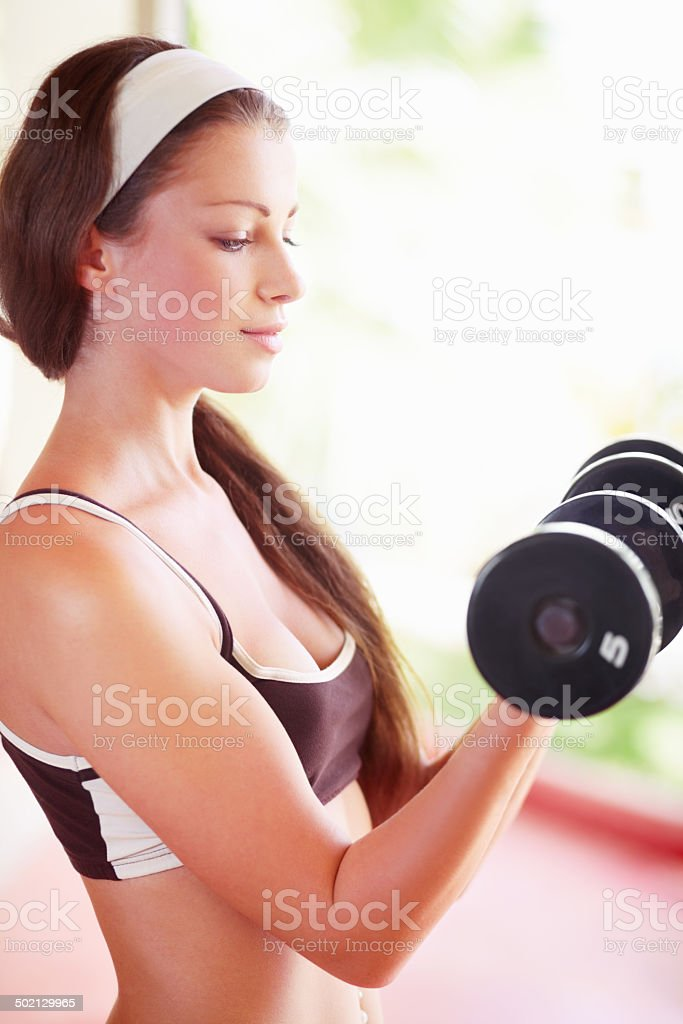 ...One hundred! stock photo
