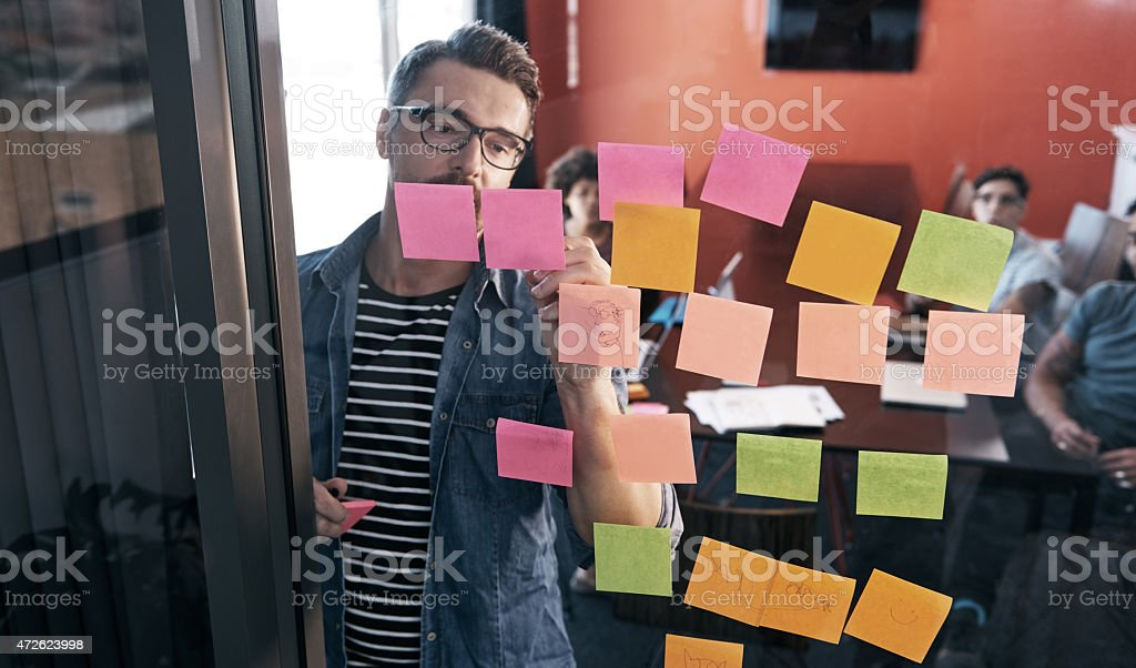 One idea begets another stock photo