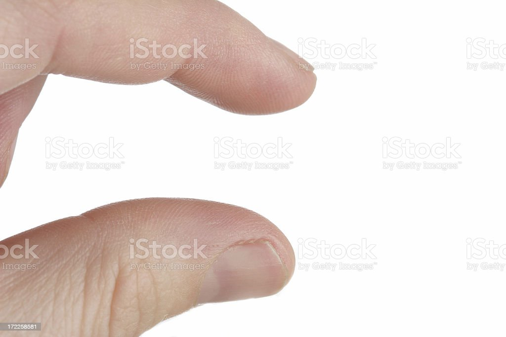 one inch stock photo
