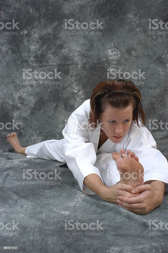 One last stretch royalty-free stock photo