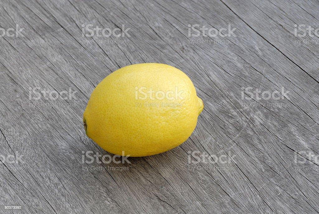 Einem Zitrone Lizenzfreies stock-foto