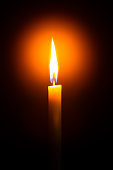 Candle, Flame, Candlelight, Dark, Black Background