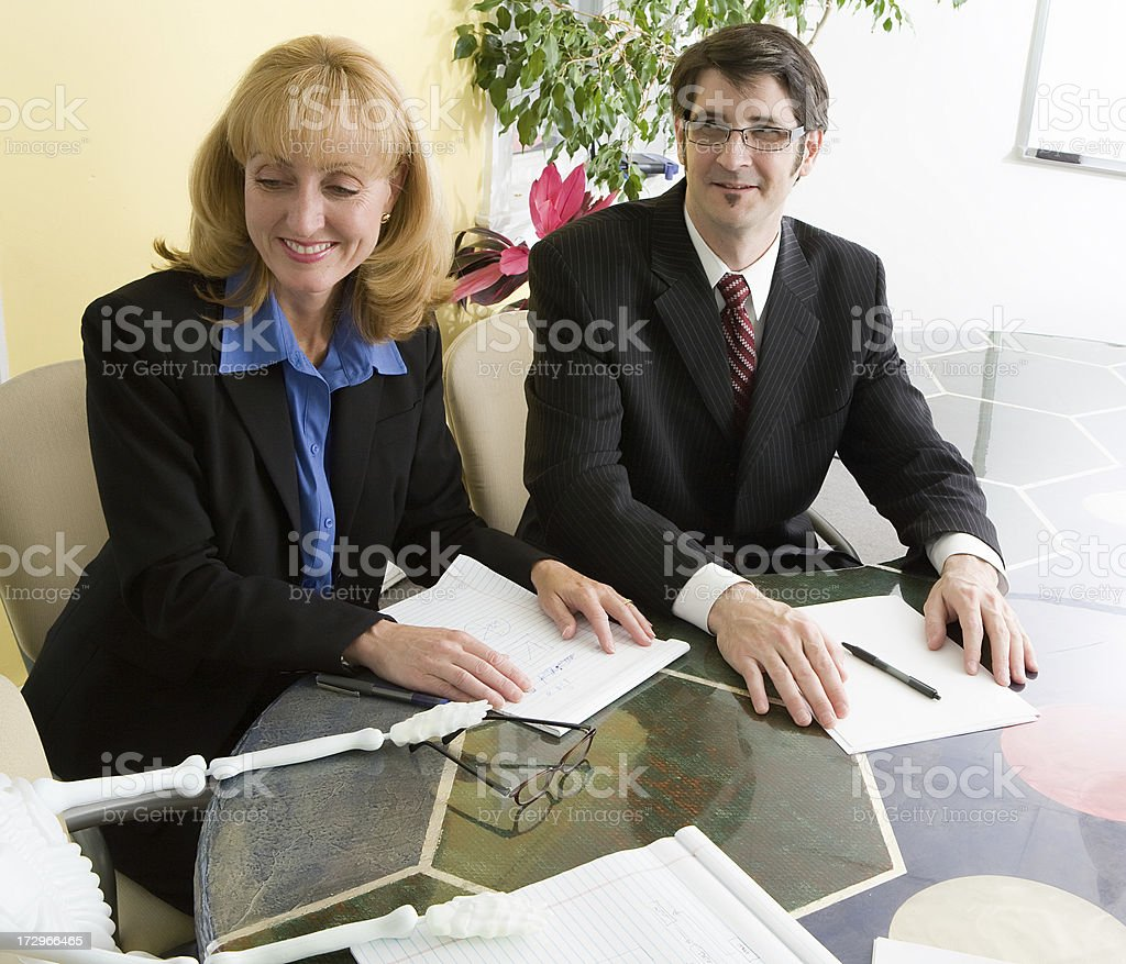 One long meeting royalty-free stock photo