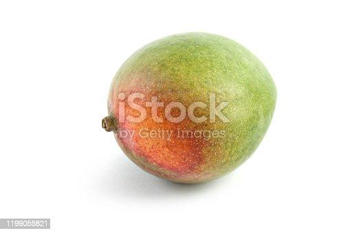One Mango on White