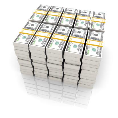 1 Milliondollar Stockfoto und mehr Bilder von 100-Dollar-Schein