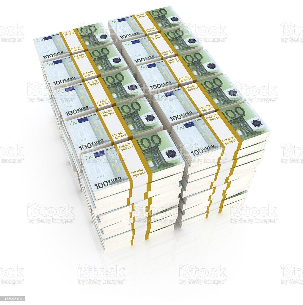 One million euro stock photo