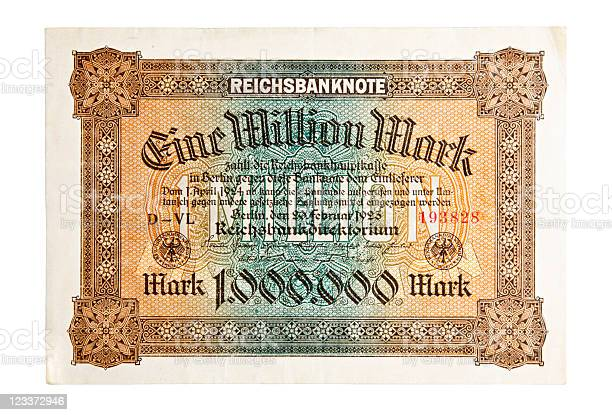 One Million Mark Bank Note
