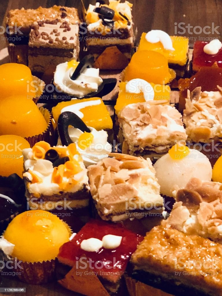 a heaven full of tasty desserts. Sweets and cakes.