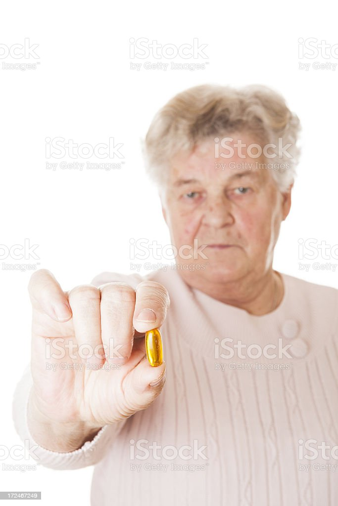One more pill royalty-free stock photo