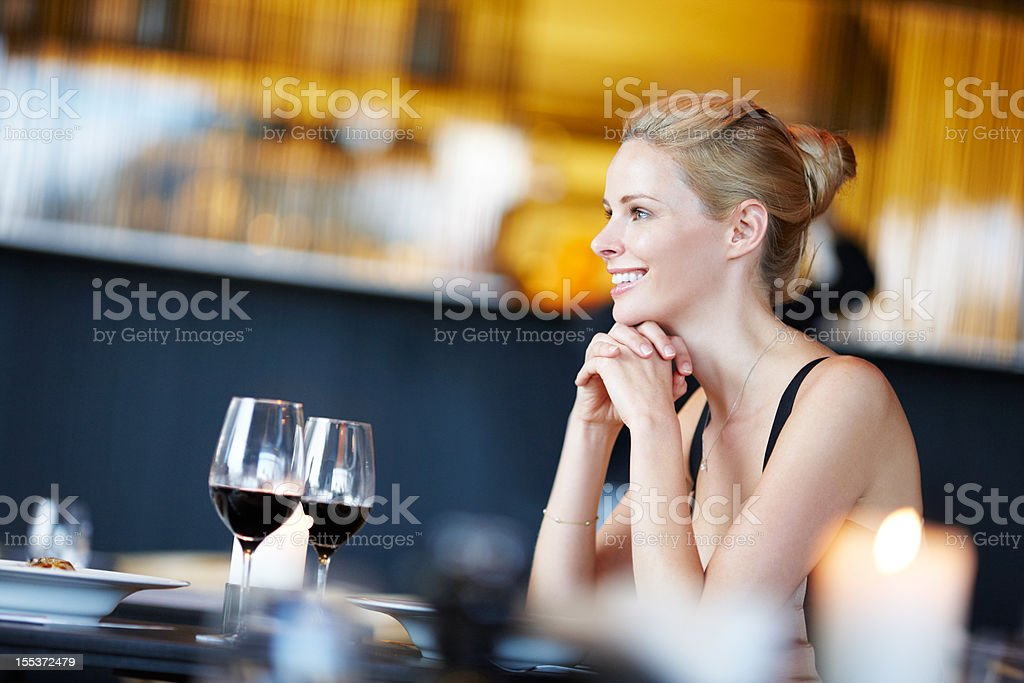 One night to remember stock photo