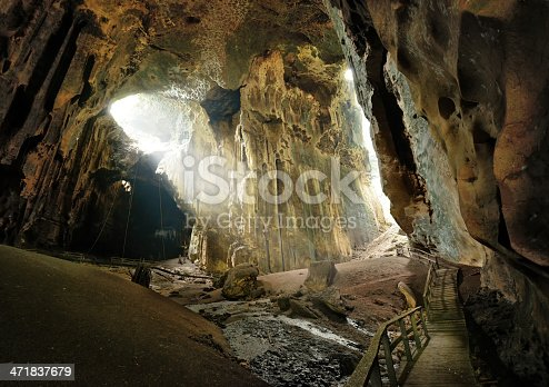 istock One of most beautiful caves Borneo Gomantong. Malaysia 471837679