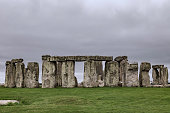 One of the most photographed sites in all of Great Briton is Stonehenge which - because of the historical mystery behind it - is best viewed on a moody, overcast day like this one