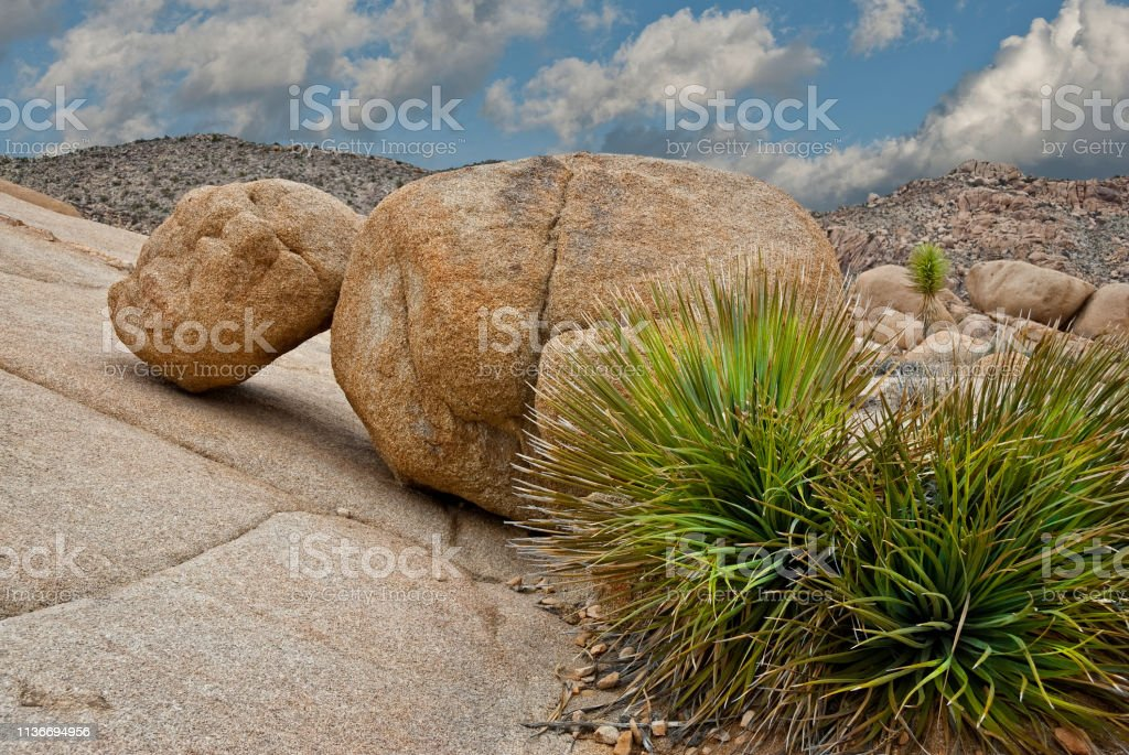 Gneiss Rock Formations stock photo