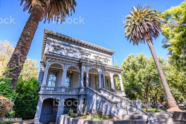 One Of The Old Buildings Old Crocker Art Museum Stock Photo - Download Image Now