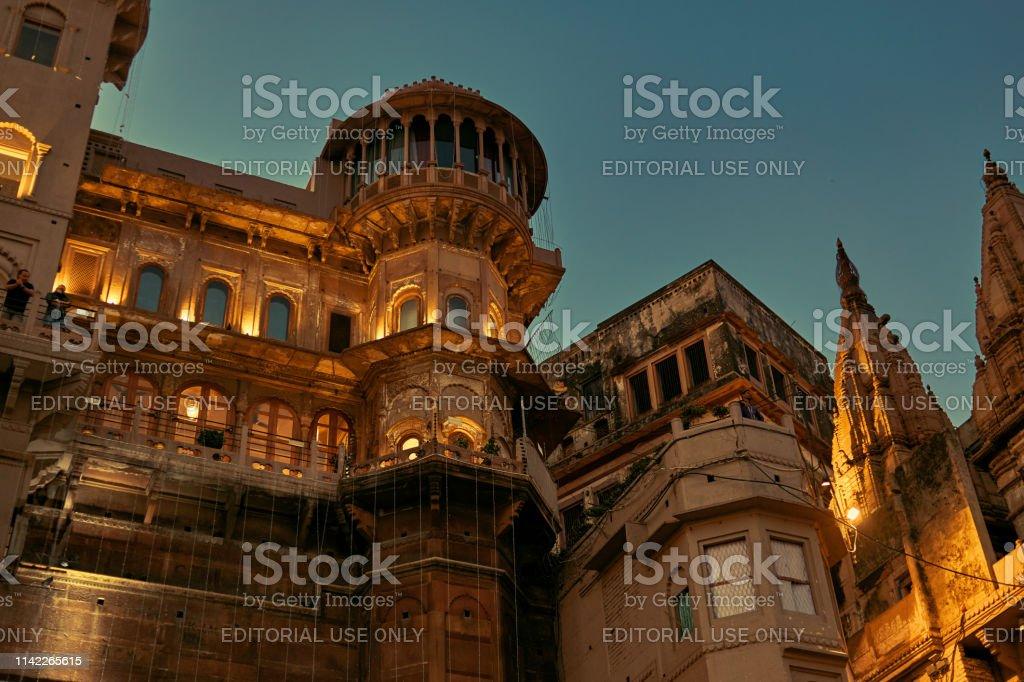 One Of The Oldest Buildings Of Varanasi Brijrama Palace On