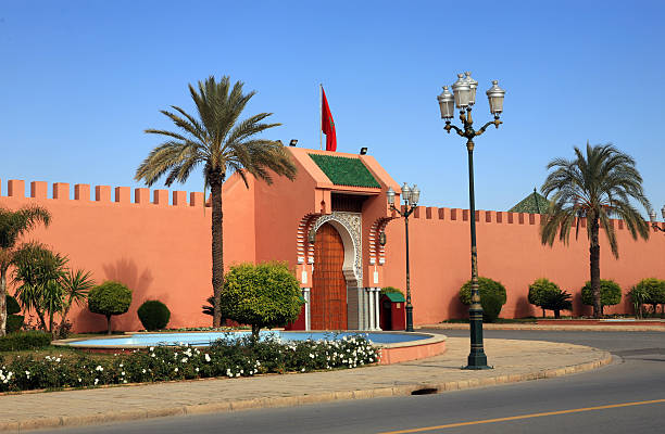 Der Royal Palace gates, Marrakesch, Marokkos – Foto