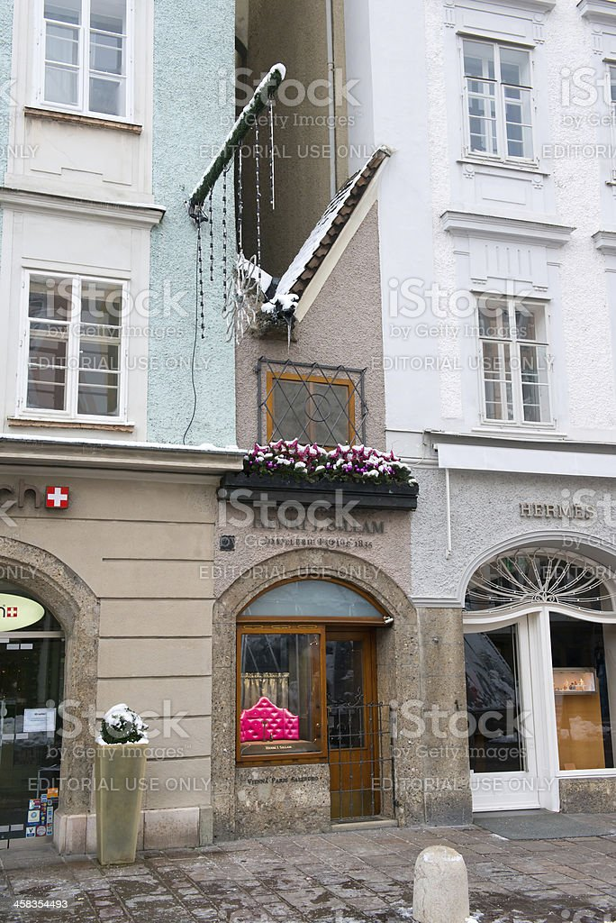 One of the world`s smallest house royalty-free stock photo