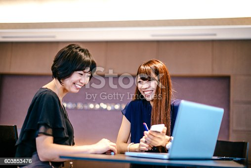 589445574istockphoto One on one meeting in Japanese company 603853476