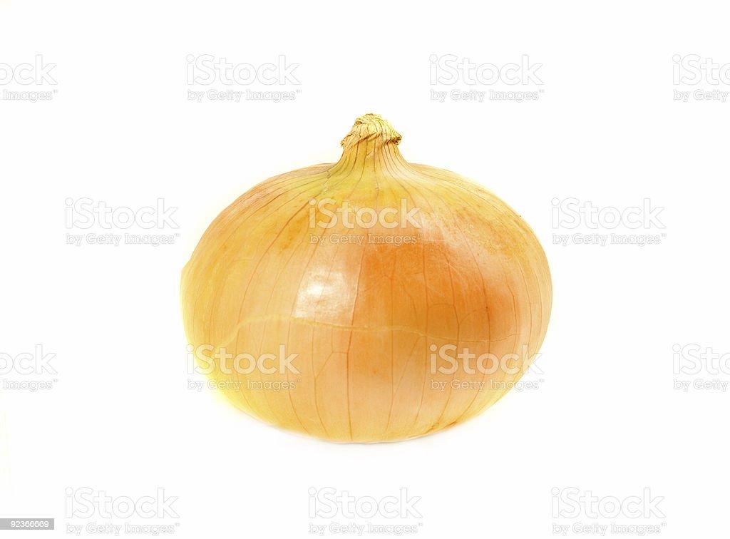 Eine gewöhnlichen Zwiebeln Lizenzfreies stock-foto