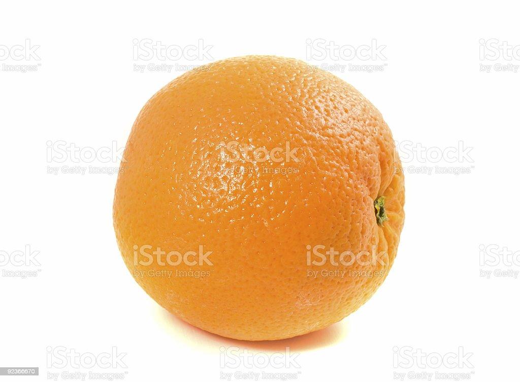 One Ordinary Orange royalty-free stock photo