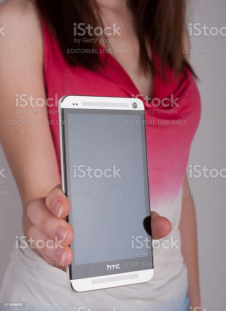 HTC One stock photo