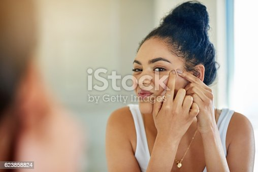 istock One pimple can change your entire day 623858824