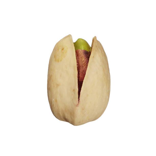One pistachio nut stock photo